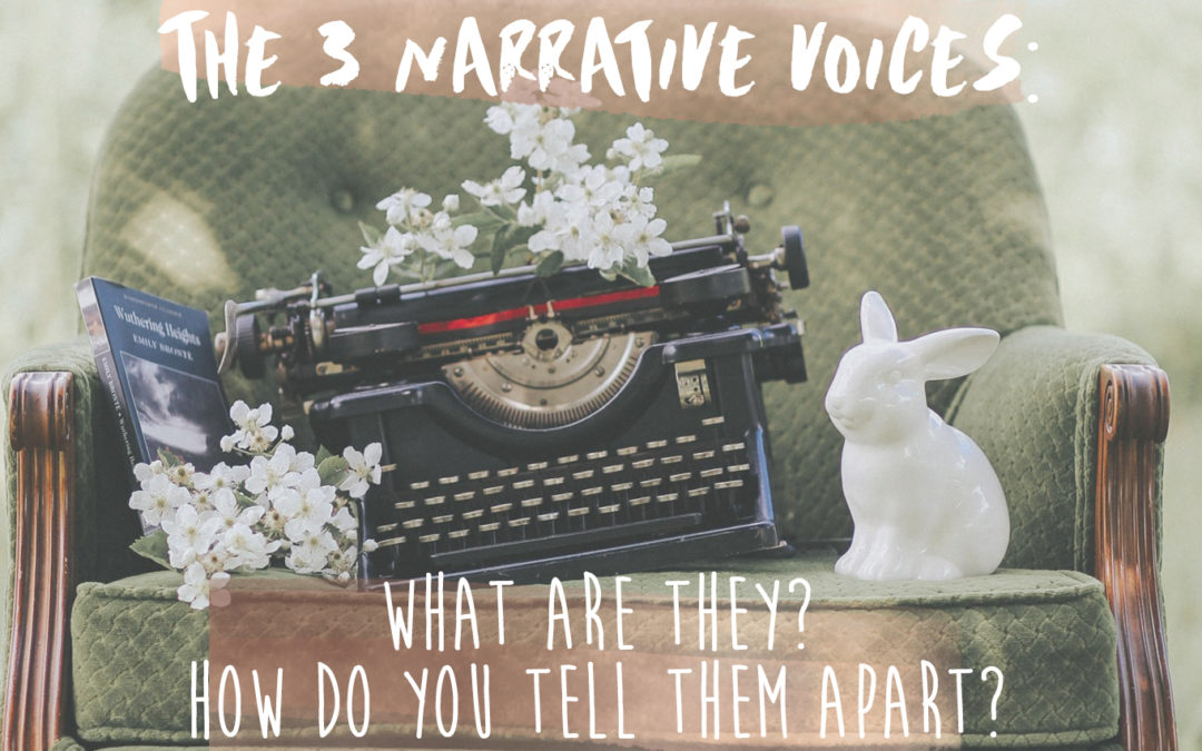 The 3 Narrative Voices: What are they? How do you tell them apart?